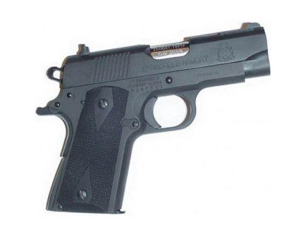 Pearce Grip Side Panel Grip for 1911 Compact Pistol, Black - PG-OM2