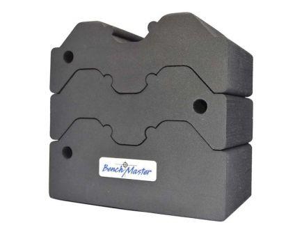 Benchmaster Rubber Cradle Adjustable 3-Piece Bench Block - BMWRABB3