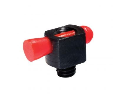 Hiviz Spark II Front Threaded Bead Replacement Sight for Most Vent-Ribbed Shotguns, Red - BD1008R