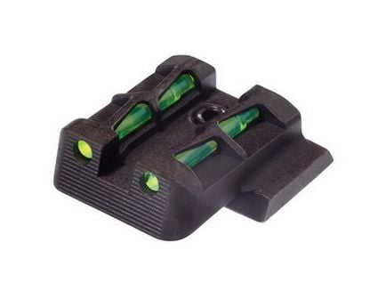 Hiviz LiteWave Rear Interchangeable Sight for 40 S&W and 45 Pistols - MPSLW11