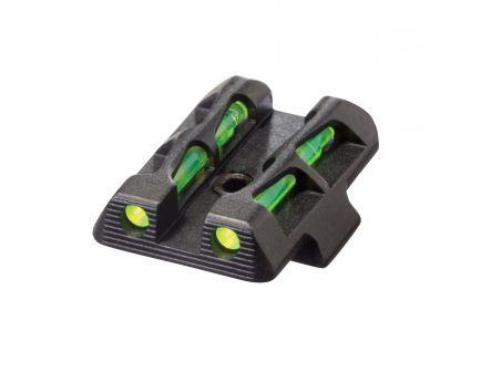Hiviz LiteWave Rear Interchangeable Sight for Glock 42/43 Pistols - GLLW11