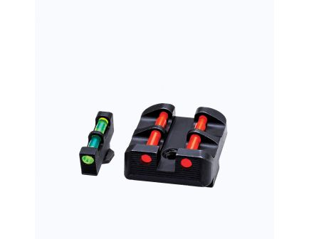 Hiviz Front/Rear Interchangeable Target Sight Set for All Glock 9mm Luger and 40 S&W Pistols - GLT178
