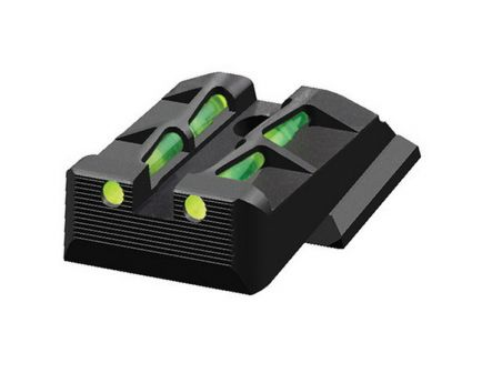 Hiviz LiteWave Rear Interchangeable Sight for Ruger American Full Size and Compact Pistols - RGALW11