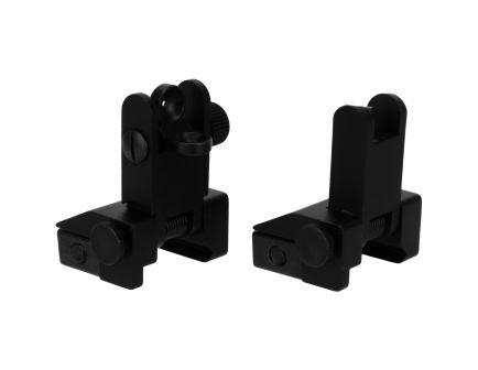Tacfire Low-Profile Front/Rear Pop-Up Iron Sight for AR Rifles - IS002