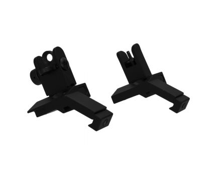 Tacfire 45 deg Front/Rear Flip-Up Iron Sight for AR Rifles - IS003