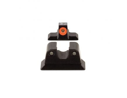 Trijicon HD Night Sight Set for Beretta PX4 Pistols, Green with Orange Outline Front/Green with Black Outline Rear - 600624