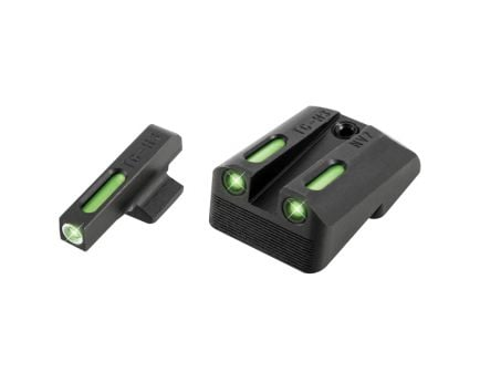 """TruGlo Brite-Site TFX Front/Rear 3-Dot Day/Night Sight Set for 1911 5"""" Government 9mm Luger/40 S&W Handgun - TG13NV2A"""