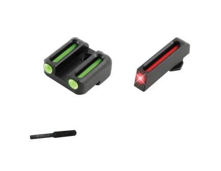 TruGlo Brite-Site Fiber Optic Front/Rear 3-Dot Sight Set for Glock 42/43 Pistols - TG131G3