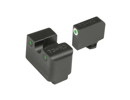 TruGlo Tritium Pro Front/Rear Night Sight Set for Glock MOS 20/21/25/28 Handguns - TG231G2MW