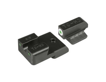 "TruGlo Tritium Pro Front/Rear Night Sight Set for 1911 5"" Government 45 ACP Handgun - TG231N1W"