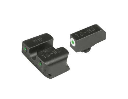 TruGlo Tritium Pro Front/Rear Night Sight Set for Walther P99/PPQ Pistols - TG231W1W
