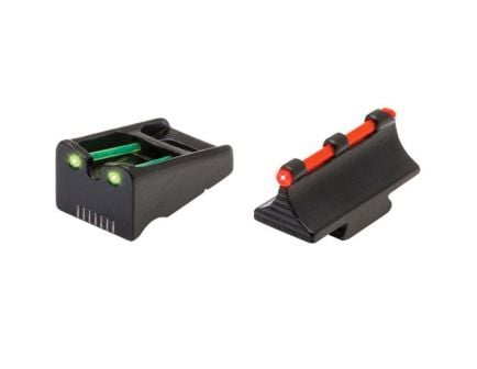 TruGlo Front/Rear Fire Sight Set for Remington Rifles and Shotguns - TG110W
