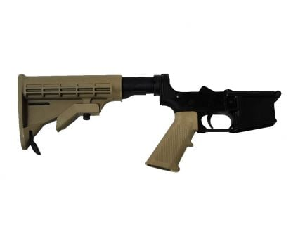 BLEM PSA AR15 Complete Classic Stealth Lower, FDE