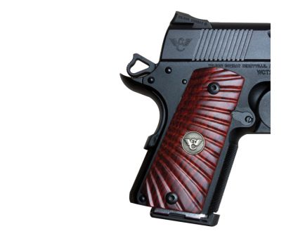 Wilson Combat Grip for 1911 Compact Pistol, Cocobolo - 351MCP