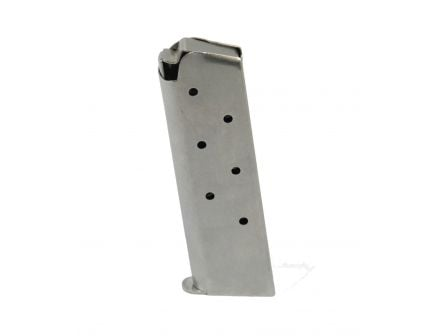 Tumbled Stainless Steel 1911 Mag .45 ACP - with PSA logo- 7779435