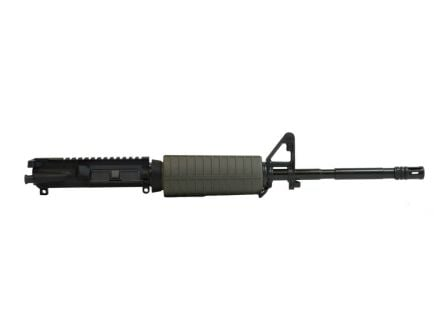 "PSA 16"" Carbine-Length M4 5.56 NATO 1/7 Phosphate Classic Upper w/ BCG and CH, Olive Drab Green"