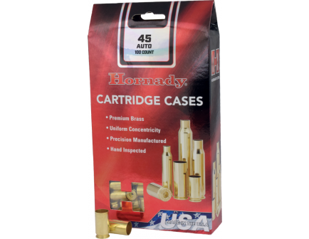 Hornady New Unprimed Brass .40 S&W Cartridge Cases, 200 count - 8720