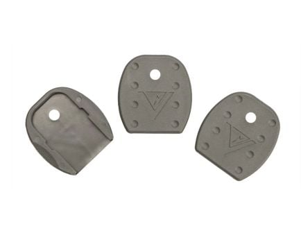 Tango Down Vickers Tactical Magazine Floor Plates 5-Pack, Gray - VTMFP-001-GRAY