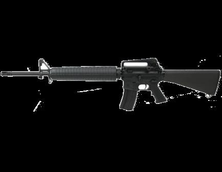 "PSA PA-15 20"" Nitride A2 Rifle-Length 5.56 NATO Classic AR-15 Rifle, Black"