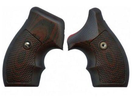 VZ Grips Tactical Diamond J-Frame - Black Cherry - VZ TD BC