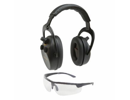 Allen Axion Ballistic Muff & Glasses Combo - 2335