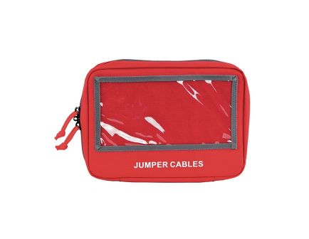 GPS Deceit & Discreet Jumper Cables Pistol Case , Red