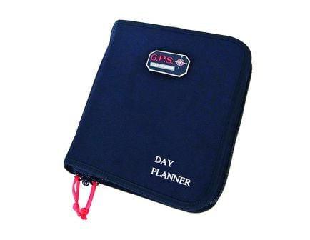 GPS Deceit & Discreet Large Day Planner Pistol Case, Black