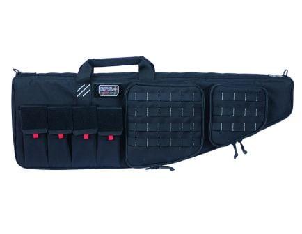 "GPS 42"" Tactical AR Case w/ External Handgun Case, Black ‒ GPS-T42ARB"