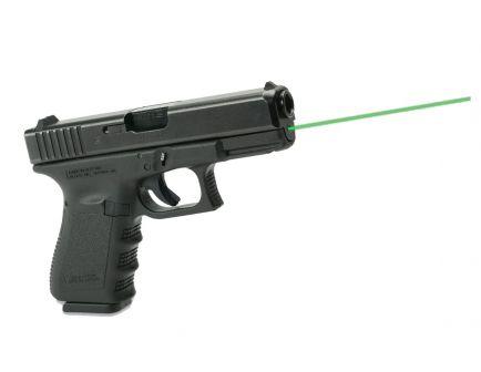 LaserMax Green Guide Rod Laser for Glock 19, 23, 32, 38 Gen 1-3 Pistols, Black - LMS-1131G