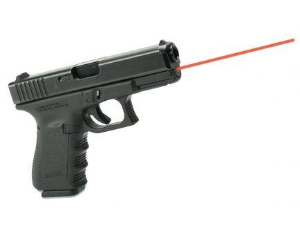 LaserMax Red Guide Rod Laser for Glock 19, 23, 32, 38 Gen 1-3 Pistols, Black - LMS-1131P