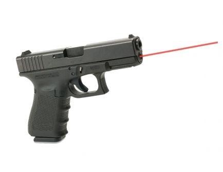 LaserMax Red Guide Rod Laser for Glock 19 Gen 4 Pistols, Black - LMS-G4-19