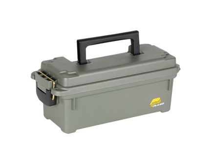 Plano Synergy 4 Round Element-Proof Compact Field Ammo Box, Olive Drab Green - 121202