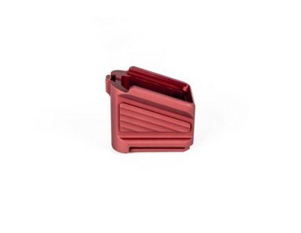 ZEV Magpul Glock PMAG17 Basepad, Red - BPAD-EXT-PMAG-5-R