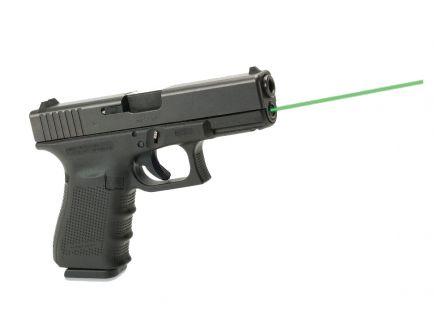 LaserMax Green Guide Rod Laser for Glock 19 Gen 4 Pistols, Black - LMS-G4-19G