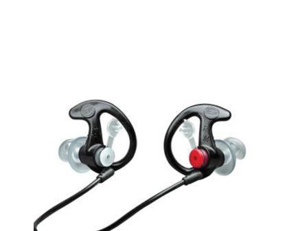 Surefire EP3 Sonic Defenders 24 dB Double Flanged Filtered Earplug, Black, 1 Pair - EP3-BK-LPR