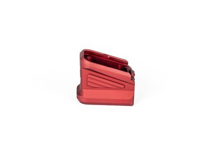 ZEV Glock Magazine Basepad, Red - BPAD-EXT-GLK-5-R