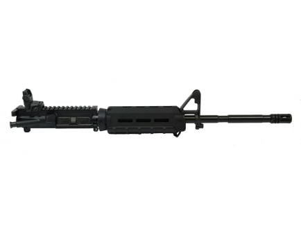 """Sideview photo of PSA 16"""" ar15 barreled upper in a nitride finish."""