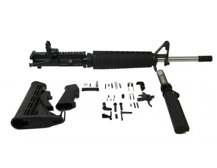"PSA 16"" Stainless Mid-length 5.56 NATO 1:7 Freedom Rifle Kit with MBUS Rear Sight- 77932955"