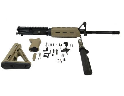 "PSA 16"" M4 Carbine magpul ar15 kit with moe fde handguards."