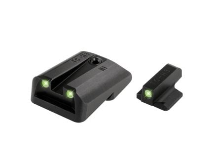 TruGlo Tritium Night Sight Set for 1911 with Novak 260 Front/450 Rear Pistols - TG231N1
