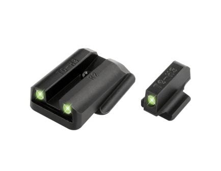 TruGlo Tritium Front/Rear Night Sight Set for Ruger LC 9/380 Pistol - TG231R2