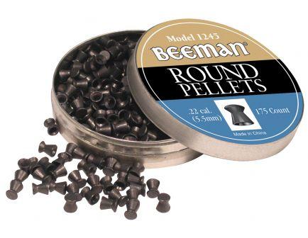 Beeman .22 Round Pellet, 175/pack - 1245