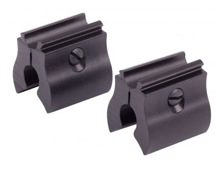 Benjamin Sheridan 392/397/CB9/C9 Metal 4-Piece Dovetail Intermount, Black - B272