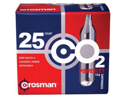 Crosman 12 g CO2 Powerlet Cartridge, 25/pack - 2311