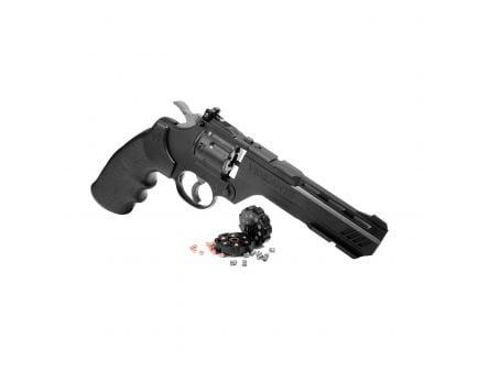 Crosman Vigilante .177 Pellet/BB Revolver, Blk - CCP8B2