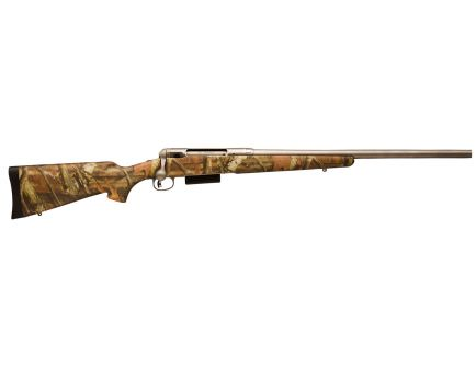 Savage Arms 220 Slug Stainless Camo 20 Gauge Bolt Action Slug Gun, Matte Camouflage - 19641