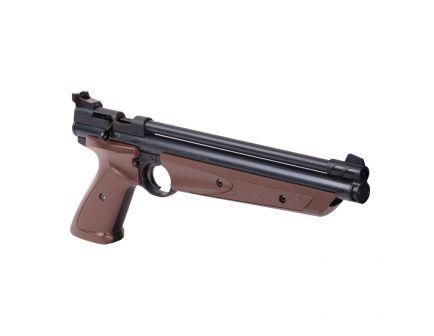 Crosman American Classic .177 Pellet/BB Air Pistol, Brown/Blk - P1377BR