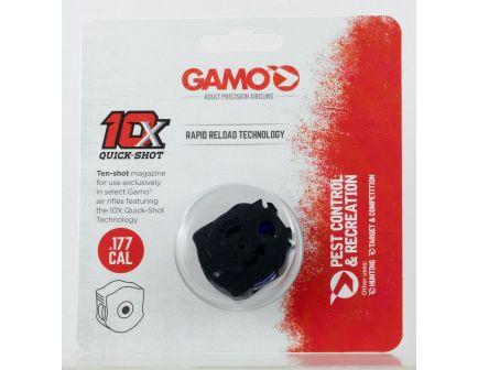 Gamo Outdoor 10 Round .177 Pellet Swarm Quick-Shot 10X Magazine, Black - 621258554