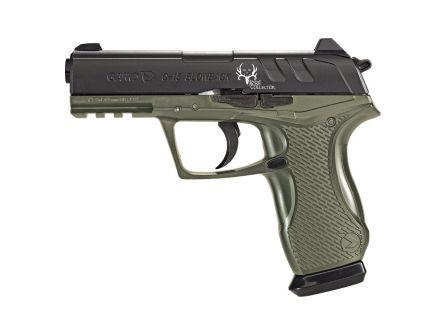 Gamo Outdoor C-15 Bone Collector .177 Pellet/BB Air Pistol, Blk/OD Green - 611139354