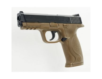 Smith & Wesson M&P 40 .177 BB Air Pistol, Brown/Blk - 2255051